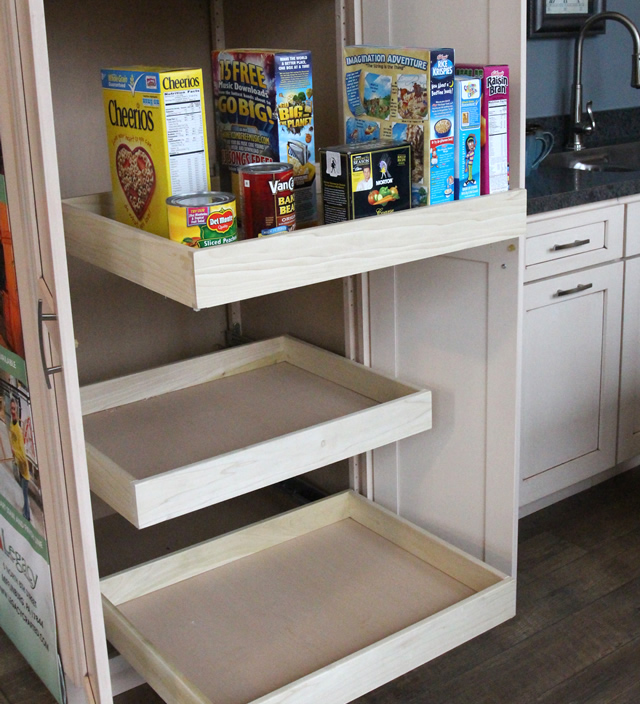 Adjustable Pantry Shelves